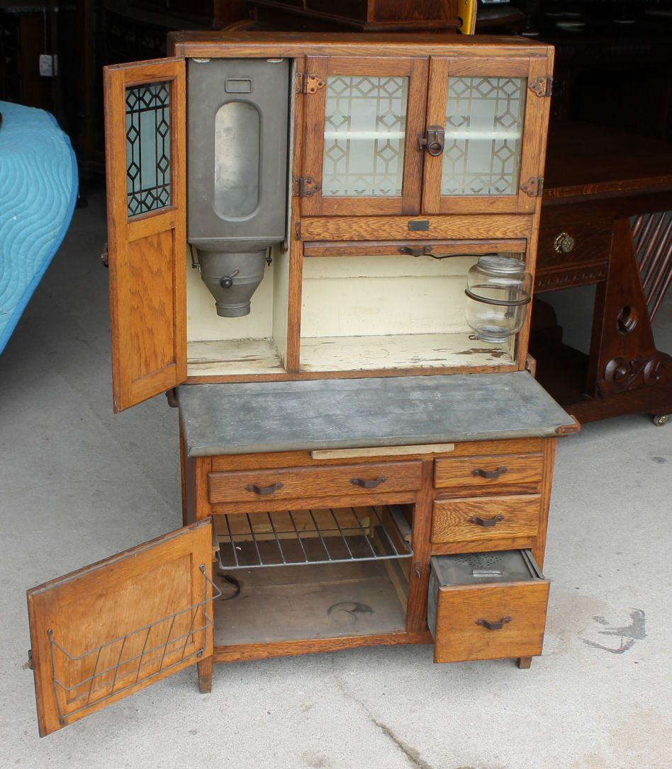 Salesman Sample Sellers Oak Kitchen Cabinet Bargain John S Antiques Vintage Kitchen Cabinets Antique Hoosier Cabinet Vintage Cabinets