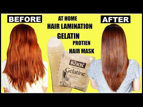 Diy Hair Lamination Using Gelatin For Dry Damaged Split Ends Breakage Beautyklove You