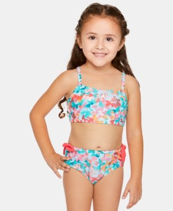 cee8cd80ebee8 Summer Crush Toddler Girls Fly-Away Floral-Print Bikini in 2019 ...