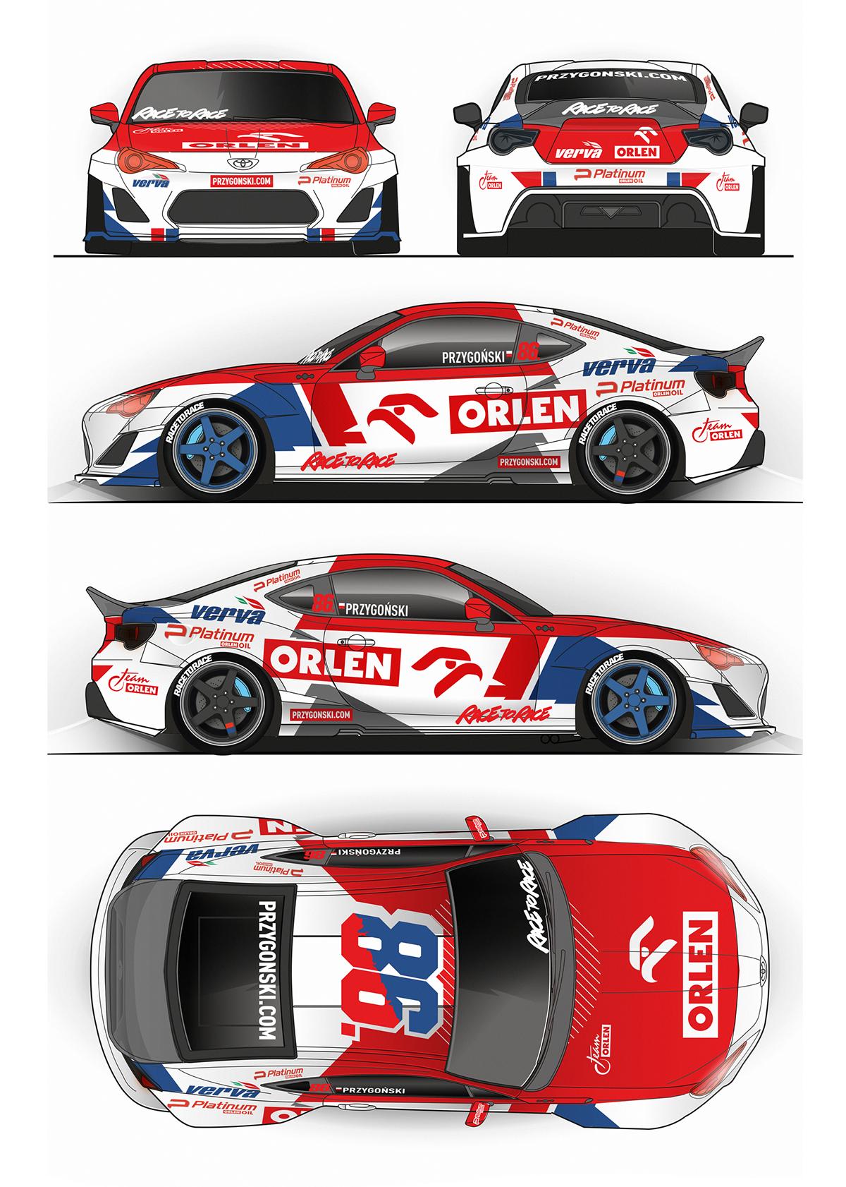 Driftwell Com Livery Graphics Car Graphics Car Wrap Design Racing Car Design