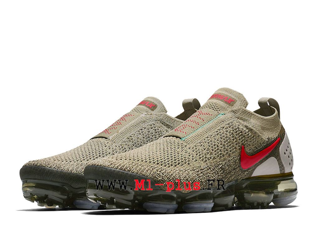 sneakers for cheap 78784 1842a Nike Air VaporMax Flyknit 2. 0 Chaussures 2018 Pas Cher Pour Homme Gray  earth yellow AH7006-200