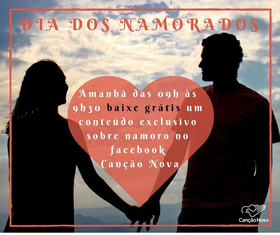 Se prepare e às 9:00 corra no nosso #facebook e #baixe um conteúdo para você sobre #DiaDosNamorados  #cancaonova