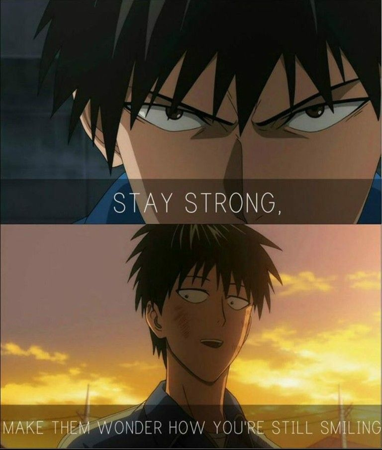 Anime Quote One Punch Man Anime One Punch Man Funny Anime Life