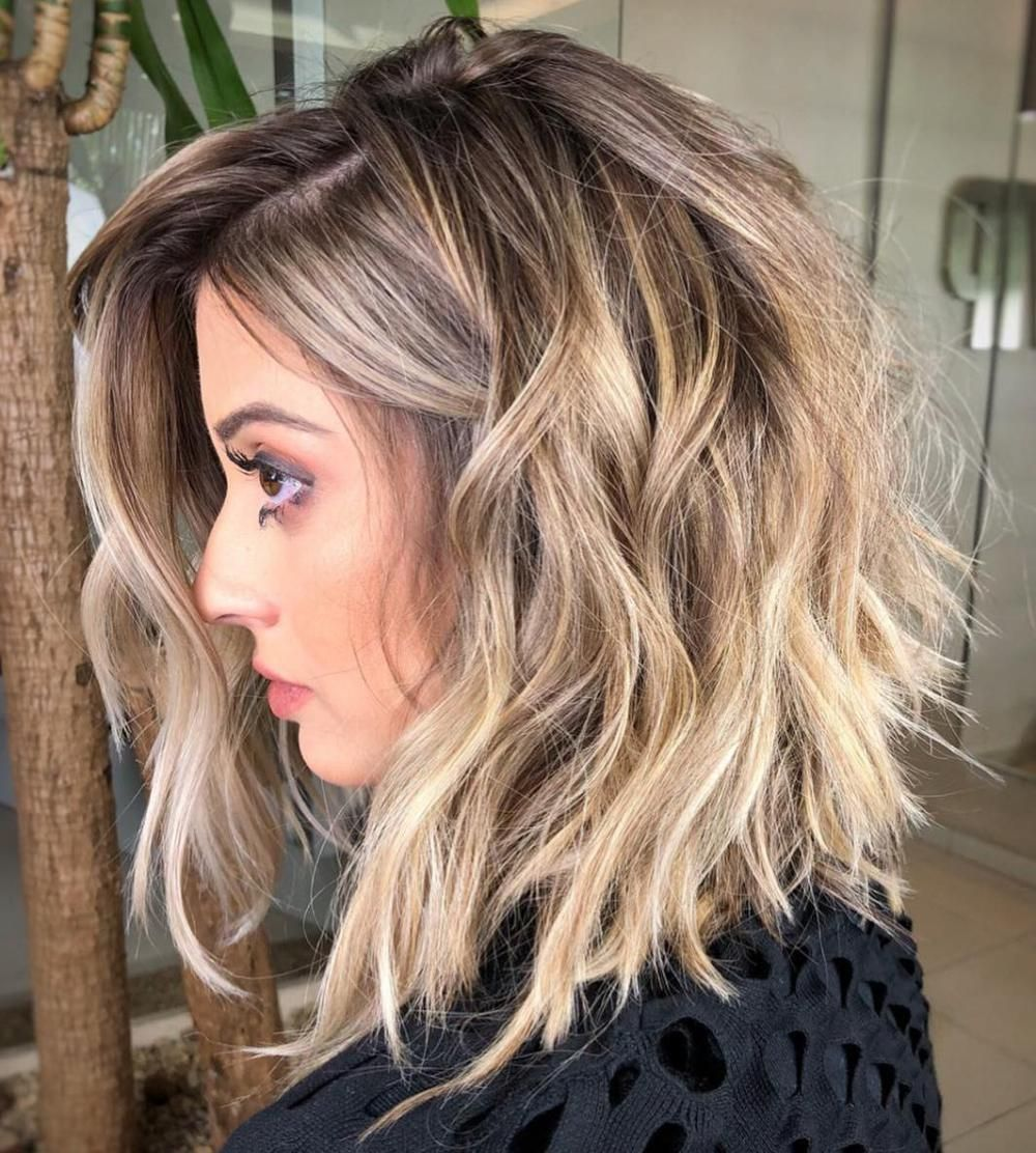 60 Most Magnetizing Hairstyles For Thick Wavy Hair Thick Wavy Hair Hair Styles Medium Hair Styles