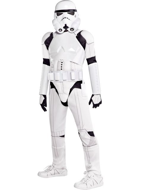Boys Stormtrooper Costume Deluxe , Star Wars , Party City