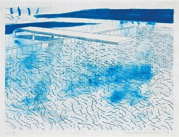 David Hockney Art Moderne Peinture Contemporaine Et David Hockney