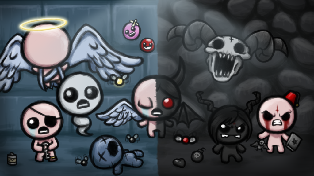 Rebirth By Kenny1654 On Deviantart The Binding Of Isaac Isaac Binding