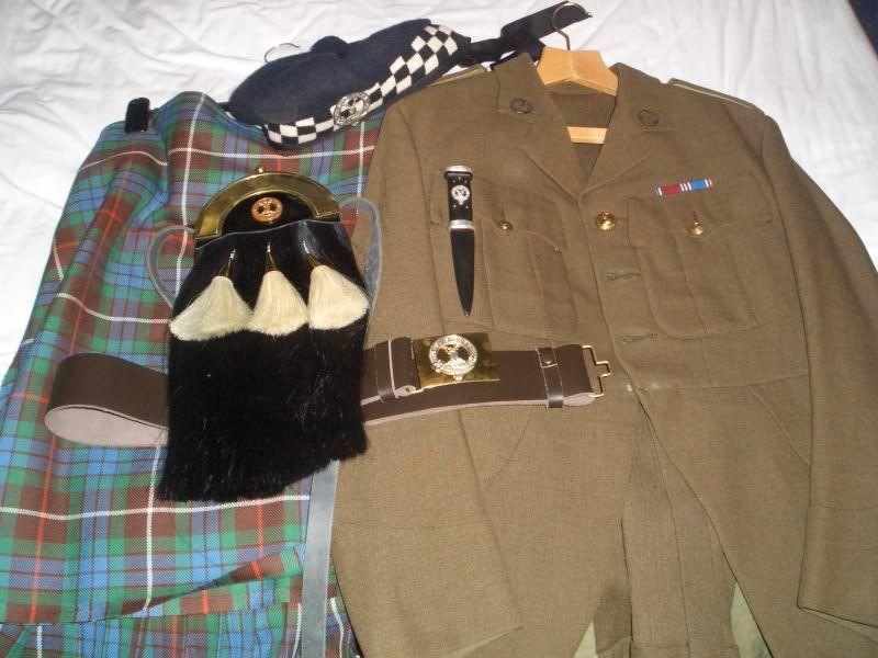 Royal marines lovat service dress whites