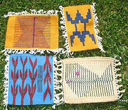 Hand Woven Tapestries At Houston Center For Contemporary Craft