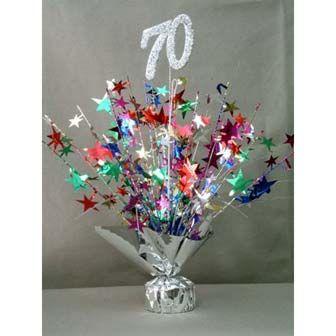70th Birthday Decorations Tesmojones Blog Christmas Pinterest