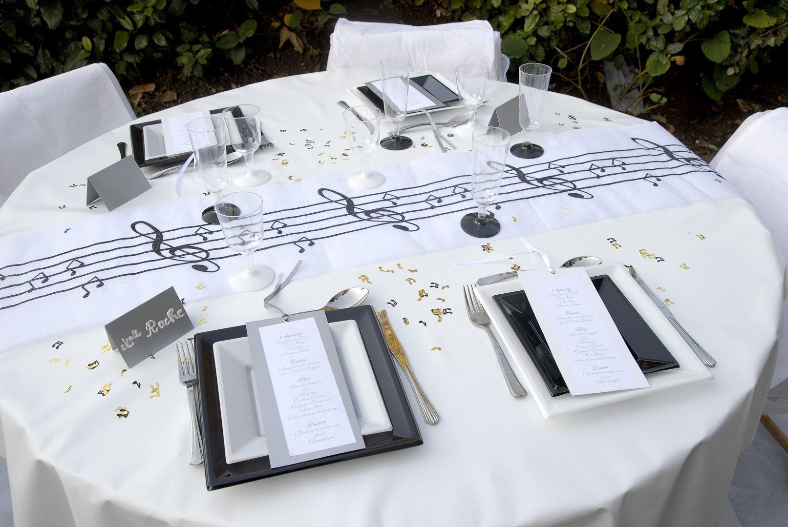 Déco table 2 | Chorus Banquet | Pinterest | Karaoke party, Banquet ...