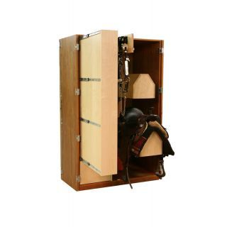 Tack Cabinets :: Large Armoire - | Slide out shelves ...
