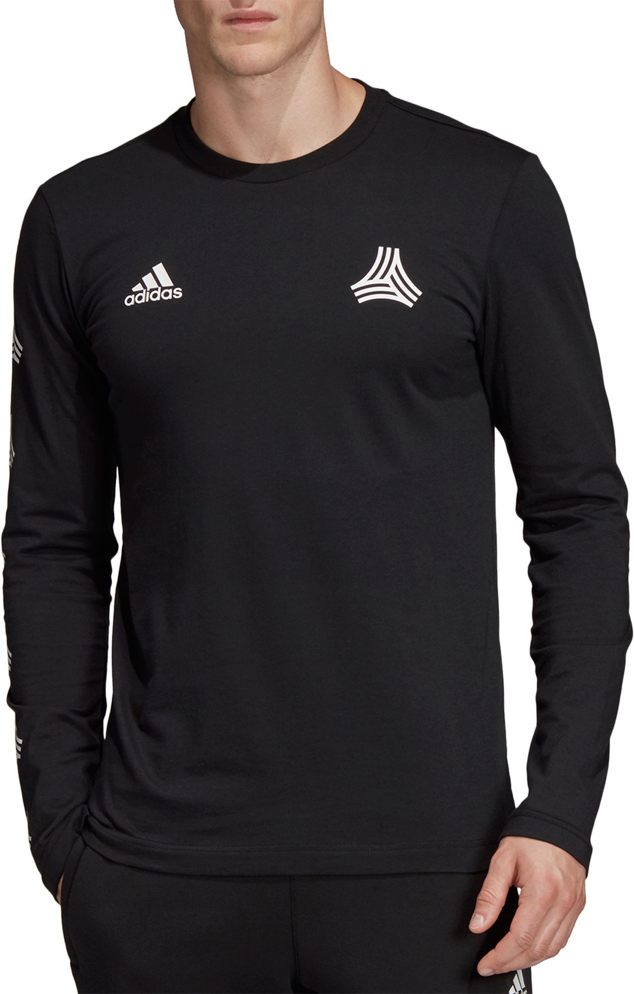 040161fc adidas Men's Tango Graphic Long Sleeve Shirt, Size: XL, Red ...