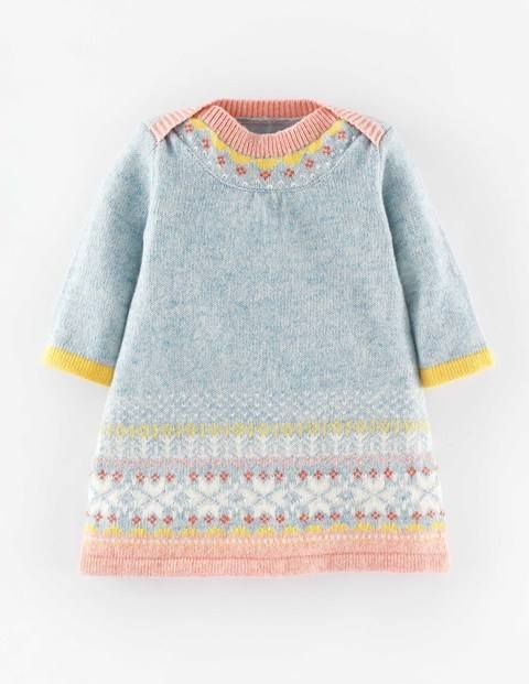 Fair Isle Knitted Dress 71454 Dresses at Boden | birds & ice cream ...