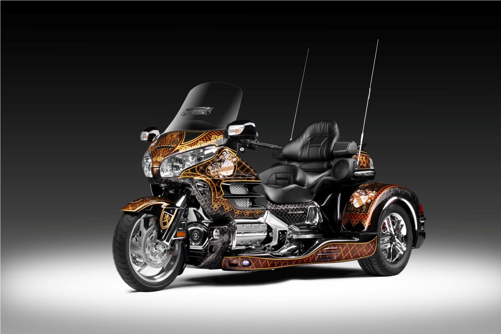 trike honda goldwing 1800 honda gold wing trike pinterest motorr der. Black Bedroom Furniture Sets. Home Design Ideas