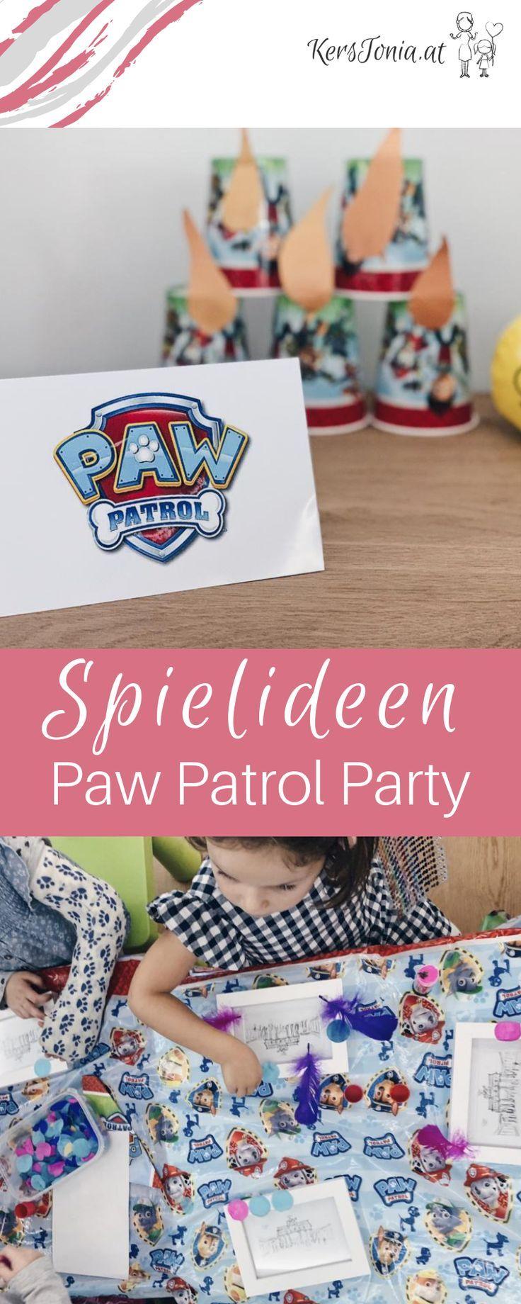 """Gastgeschenk Kindergeburtstag Mitgebsel-Set /""""Paw Patrol/"""" für 6 Jungen"""