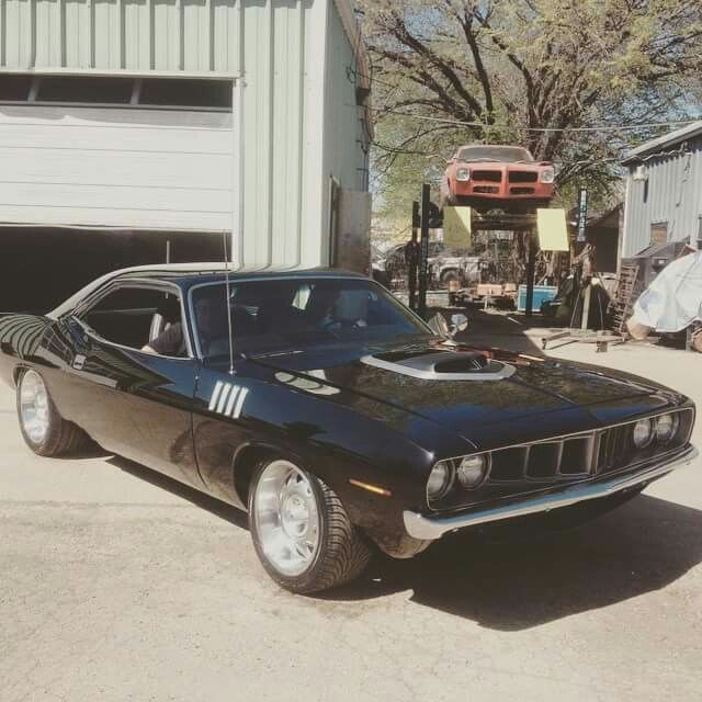 "'71 TX9 Cuda. From The TV SHOW ""FIRED UP GARAGE"""