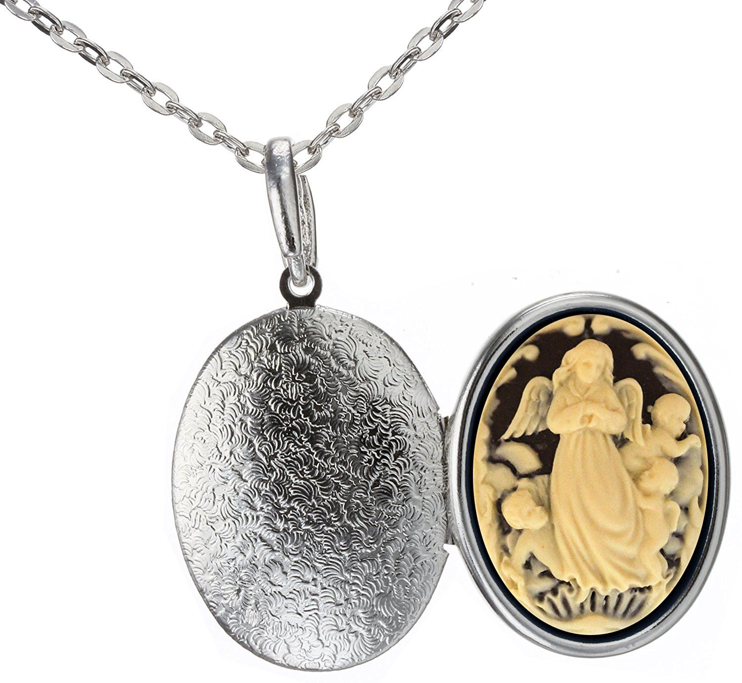 mariana lockets angel spencer products j guardian necklace champagne