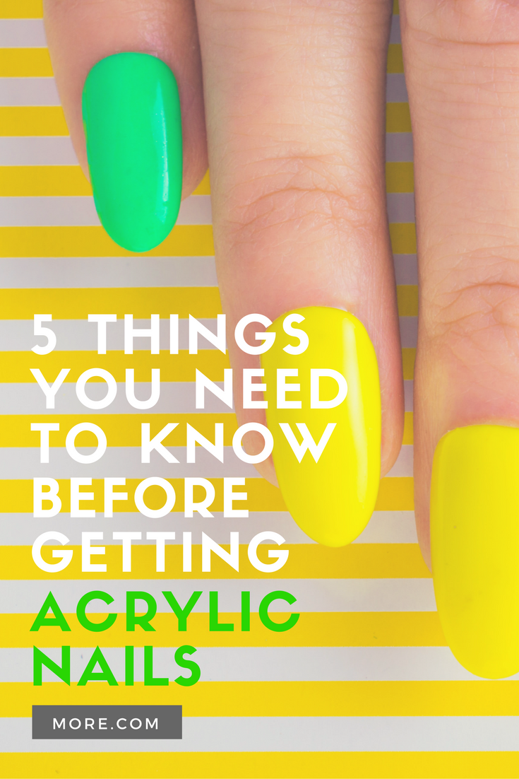 5 Things You Need To Know Before Getting Acrylic Nails Nails