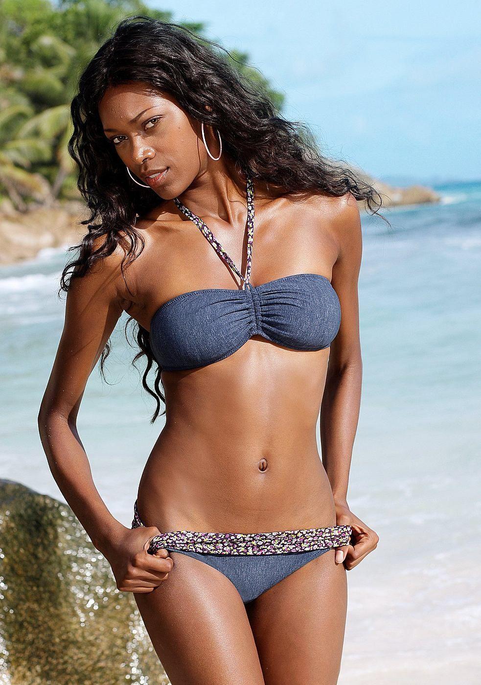 160feecdb Bandeau-Bikini, Jette   swim suit   Bikinis, Blue bandeau bikini ...
