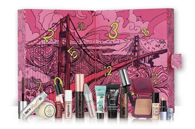 Benefit Cosmetics Beauty Advent Calendar 2017 Christmas ideas