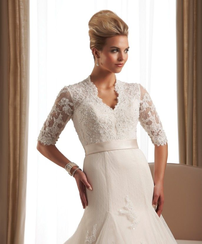 Mature Brides Wedding Gowns: Wedding Dresses For Older Brides With Sleeves