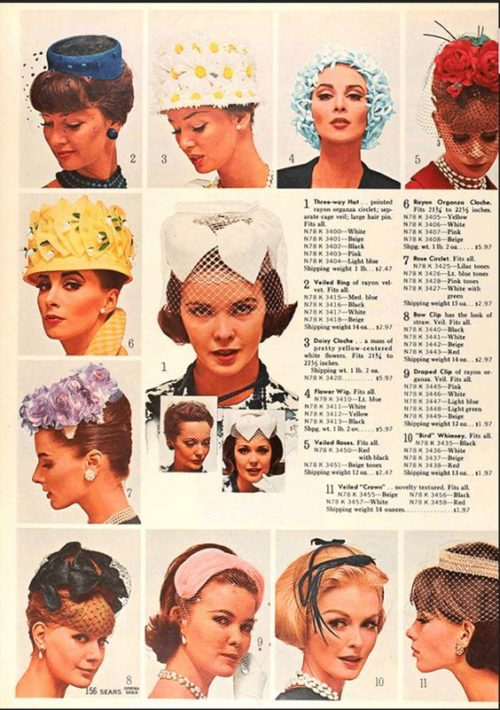 1950s Womens Hats By Style Hats Vintage Vintage Millinery Hats For Women