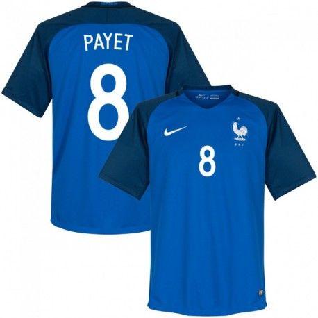 Maillot Equipe de France PAYET 2016/2017 Officiel EURO 2016 Domicile.  Flocages Personnalisés Disponibles