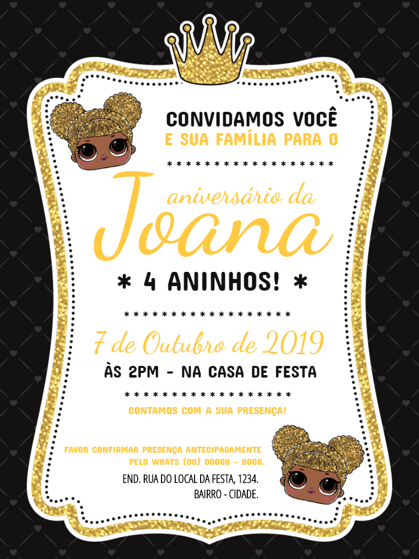 Convite Online Lol Editar Gratis Convite Aniversario Infantil Modelo De Convite Aniversario Convite De Aniversario Digital