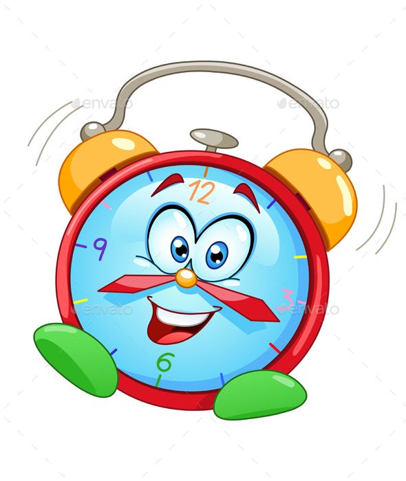 Cartoon Alarm Clock | Clock, Clock drawings, Alarm clock