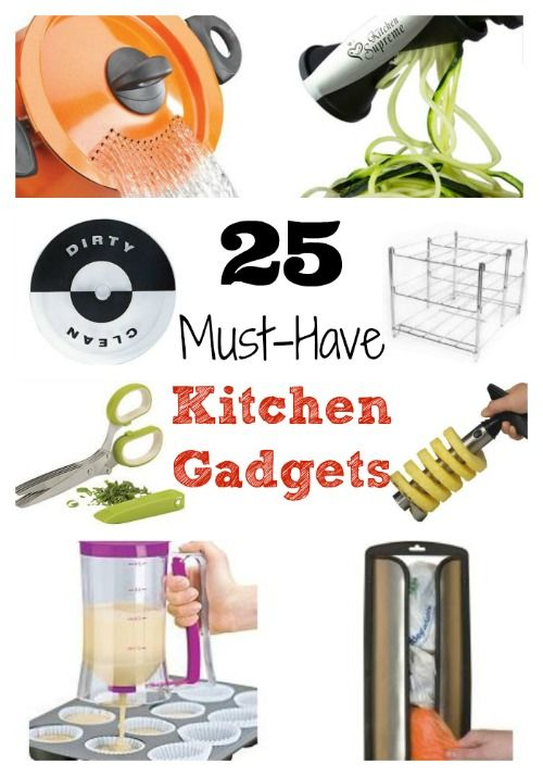 I Have A Few Of These 25 Must Have Kitchen Gadgets, But These Are So Many I  Want After Seeing Them! Idea