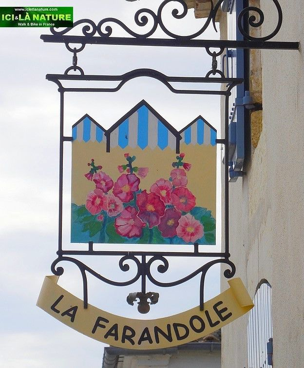 France Charente A Peaceful Walk In The Streets Of Talmont Sur Gironde 50 Photos Shop Signs Pub Signs Fun Signs