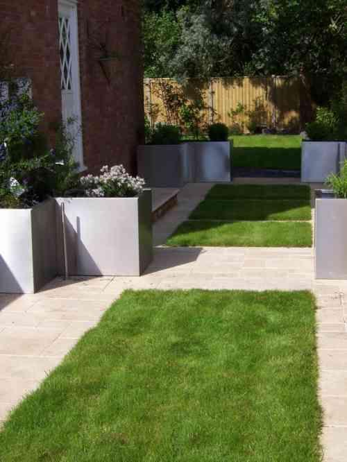 Jardin contemporain et accueillant pour le printemps en 50 idées ...
