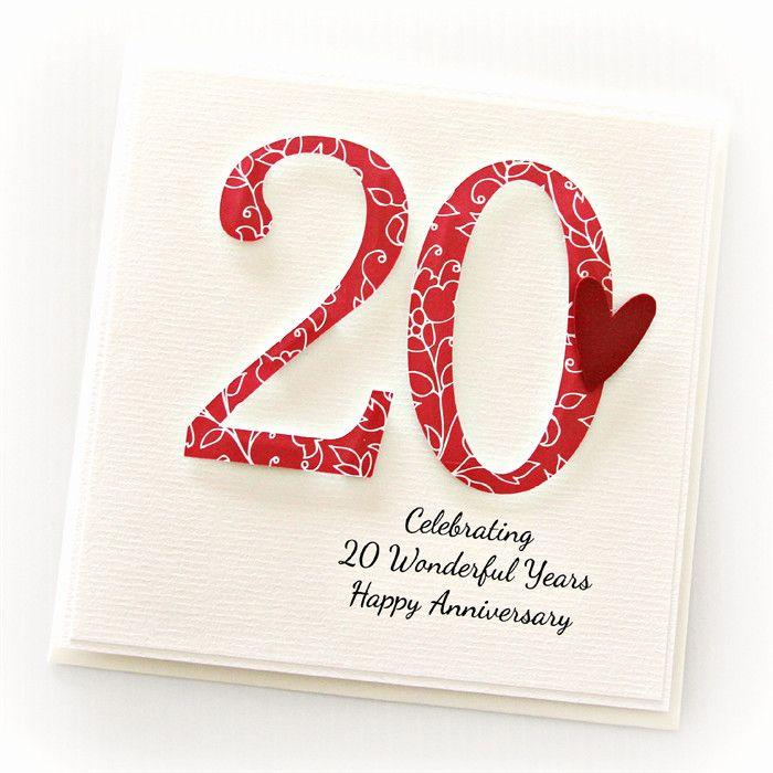 20th Wedding Anniversary Gift Ideas 45674