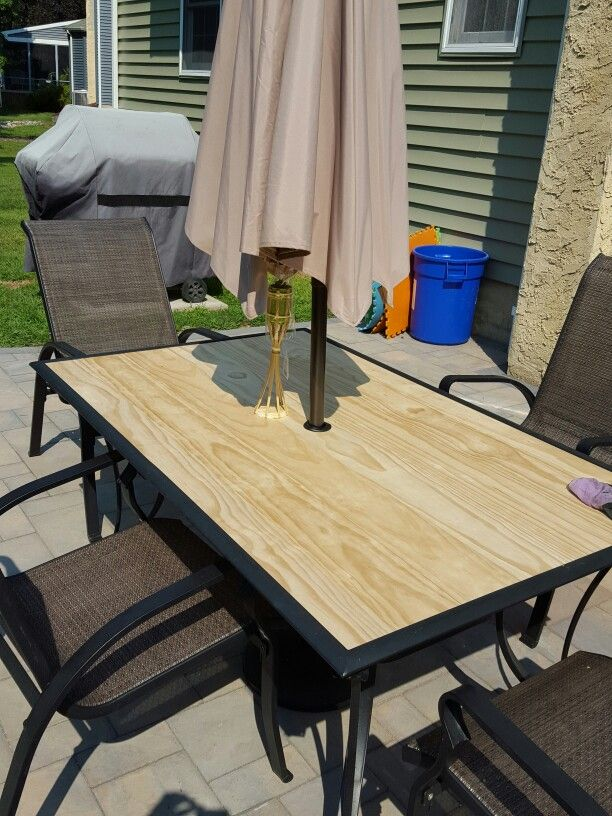 Diy Outdoor Coffee Table With Tile