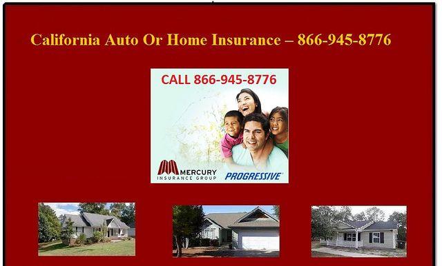 California Auto Or Home...