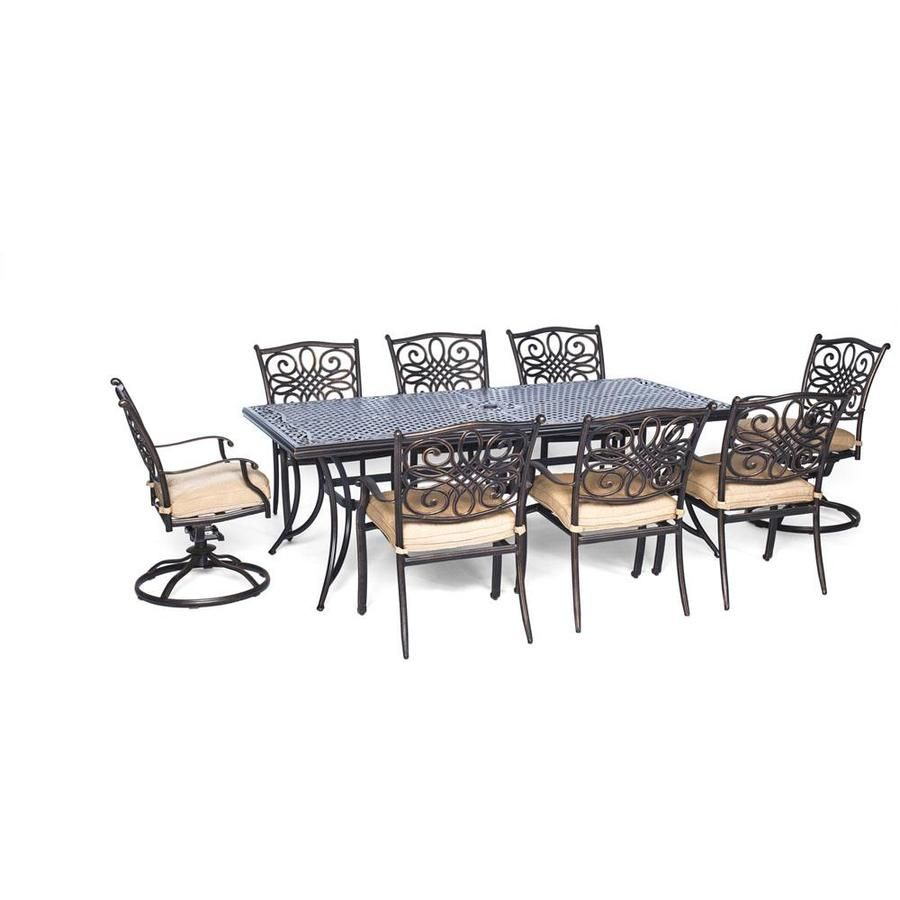 23++ Hanover traditions 7 piece dining set Top