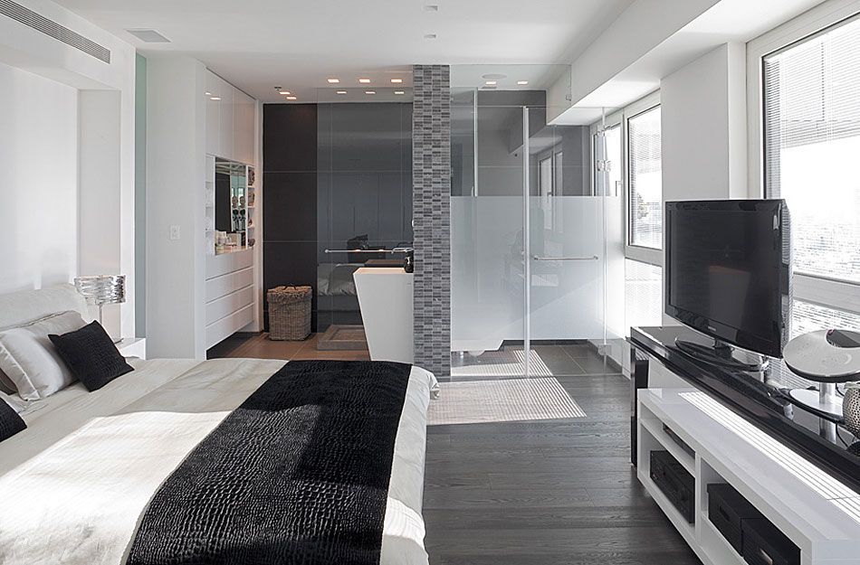 Nice screen behind bed My dream home Pinterest Bedrooms