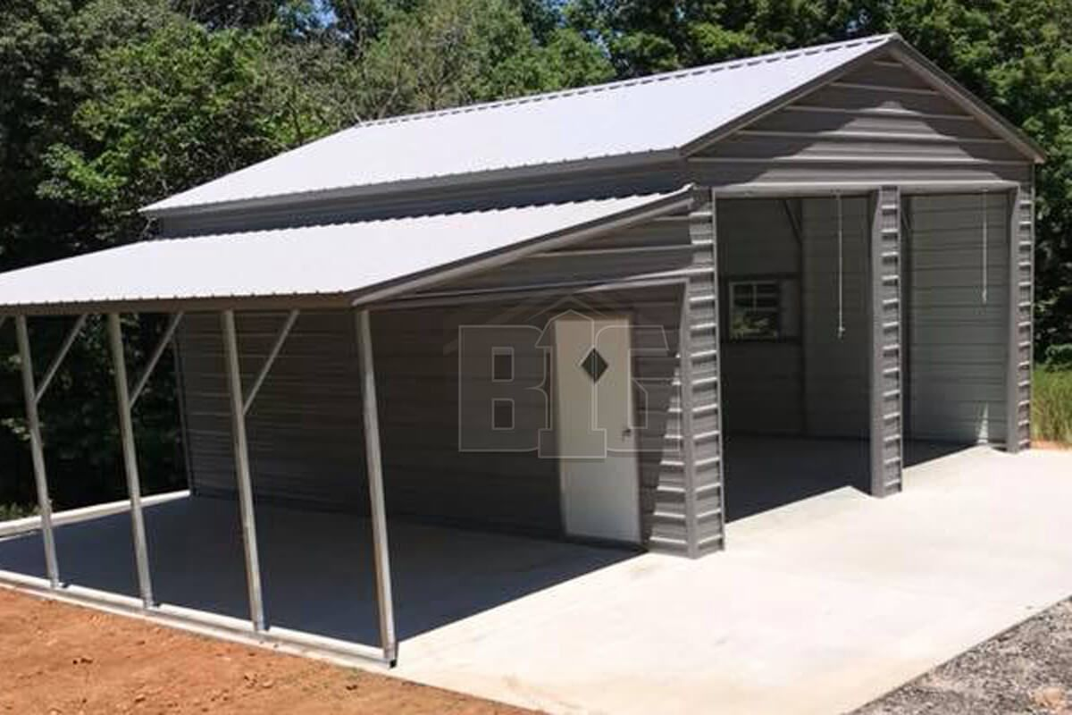 The Forever Garage 32x25x11 8 Big Buildings Direct In 2020 Metal Garage Buildings Garage Door Design Metal Barn