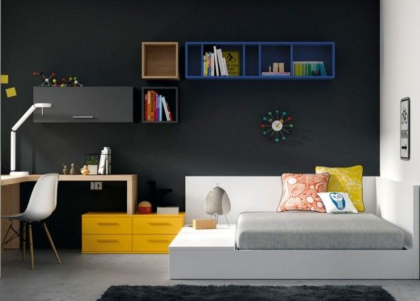 pin de nina en interior design schlafzimmer kinderzimmer y kinder zimmer. Black Bedroom Furniture Sets. Home Design Ideas