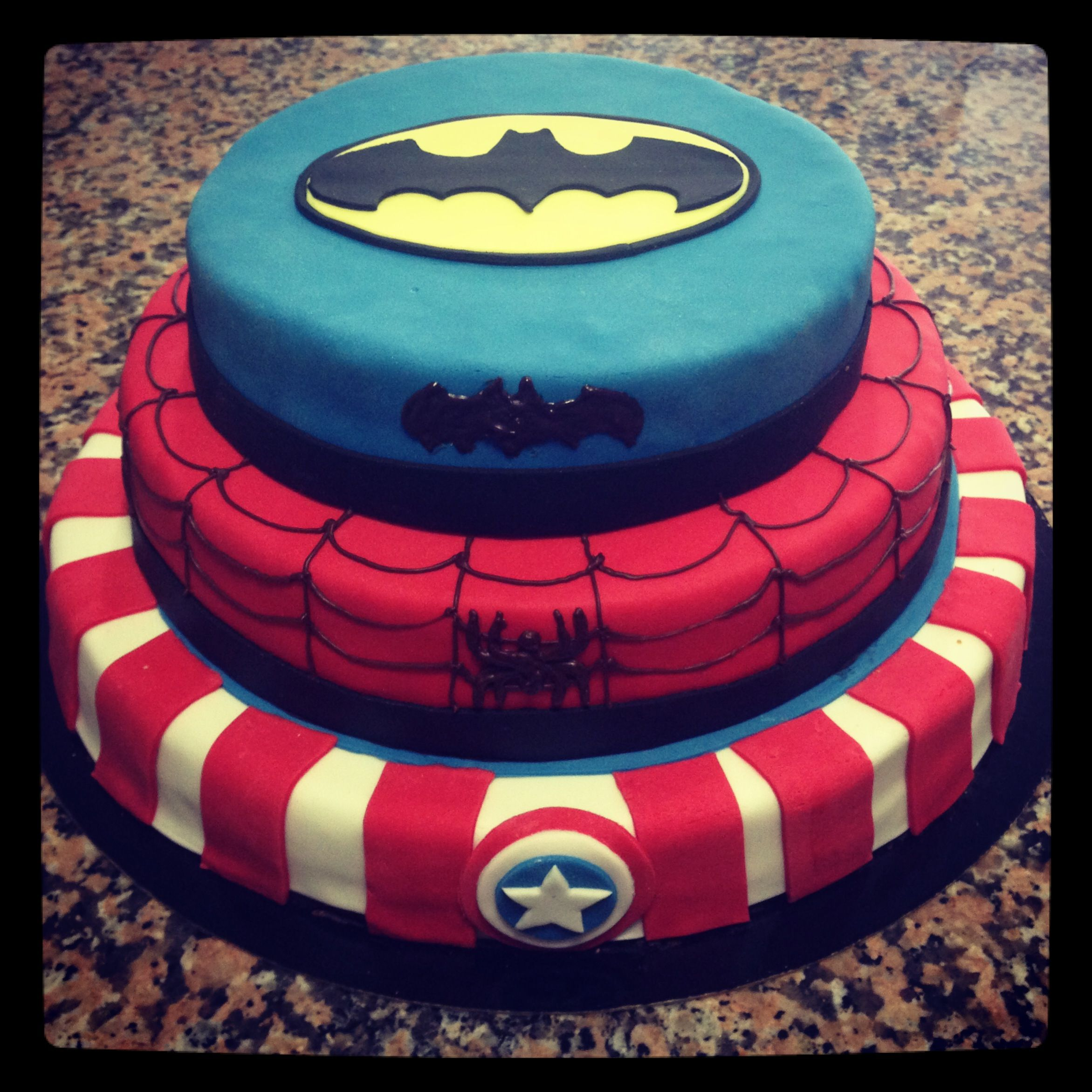 gteau super hros - Gateau Super Heros