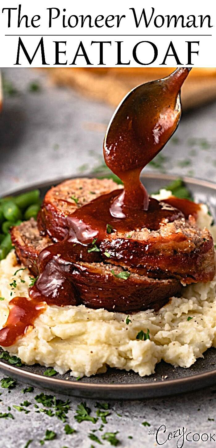 Pin by Tana on beef in 2020 | Meatloaf recipes pioneer ...