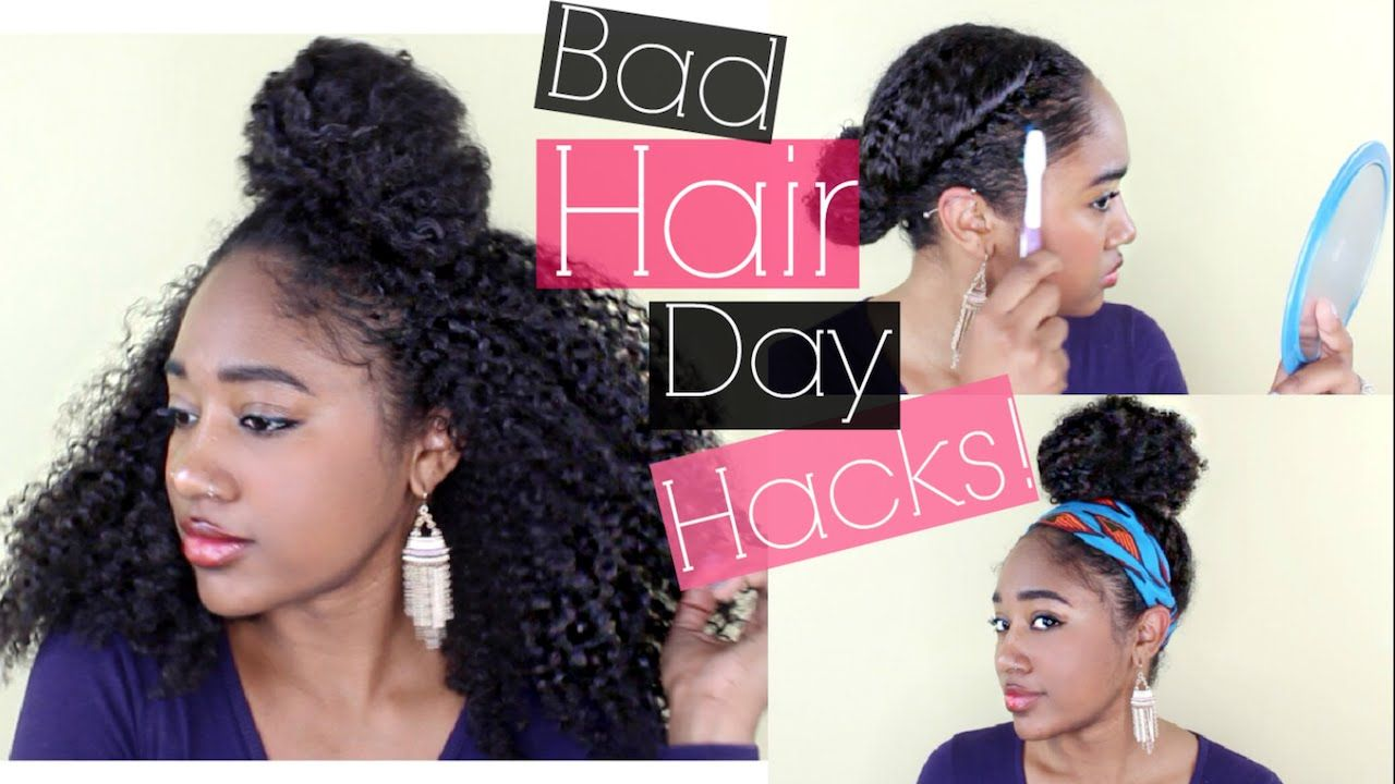 Quick styles emergency hair kit for bad hair days natural hair