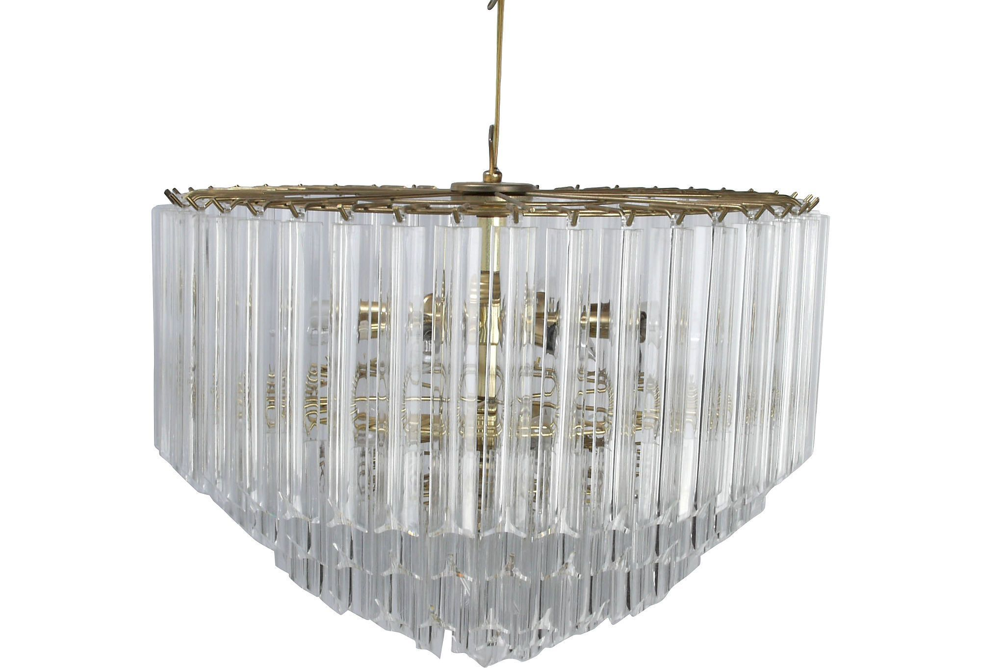 5 tier brass and lucite chandelier one kings lane lighting ideas 5 tier brass and lucite chandelier one kings lane arubaitofo Images