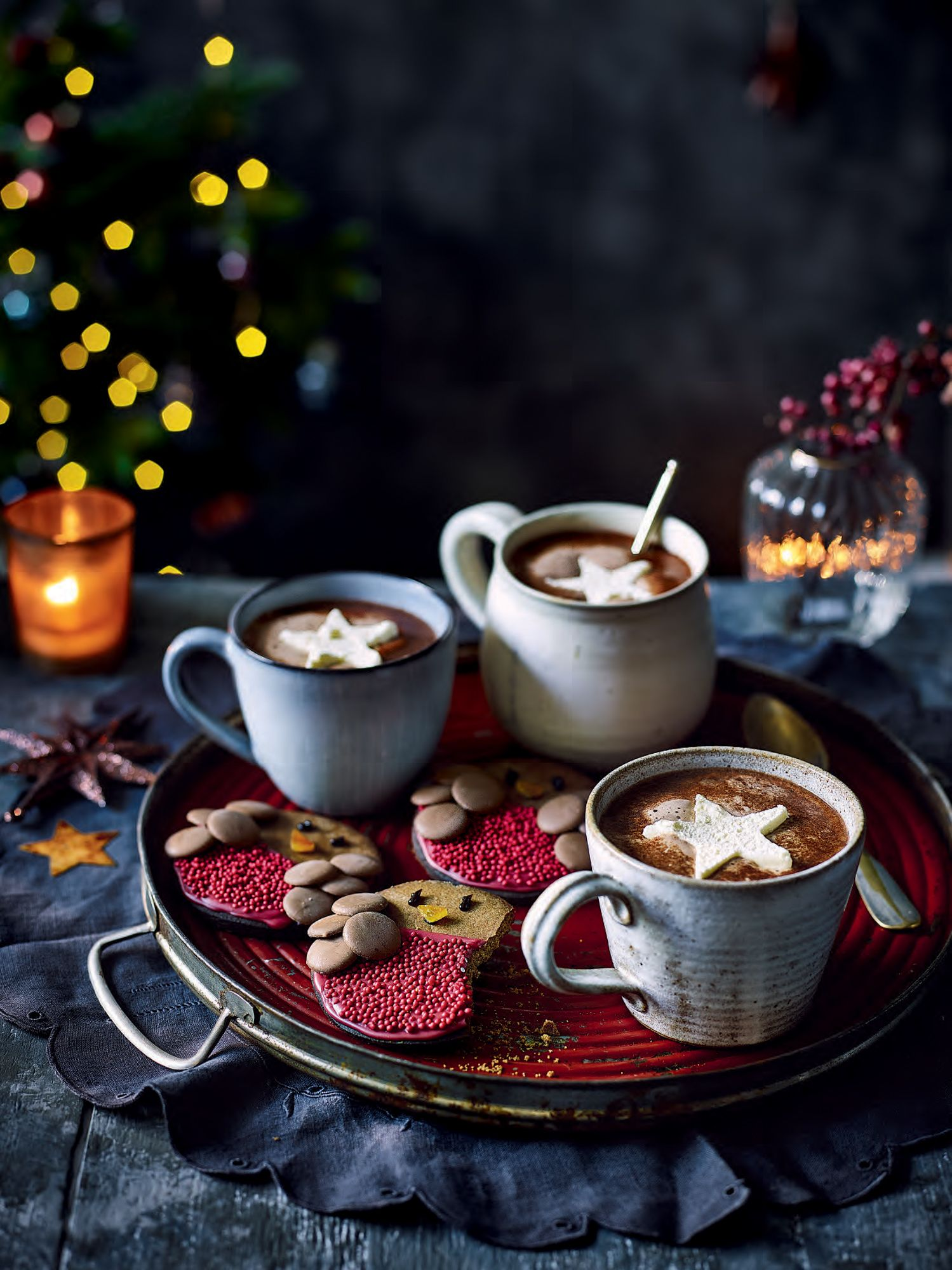 Tesco magazine Christmas 2017 in 2020 Hot chocolate