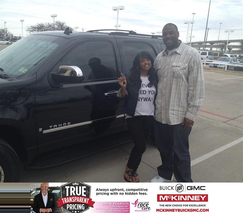 Congratulations To Tarree Jackson On Your Chevrolet Tahoe