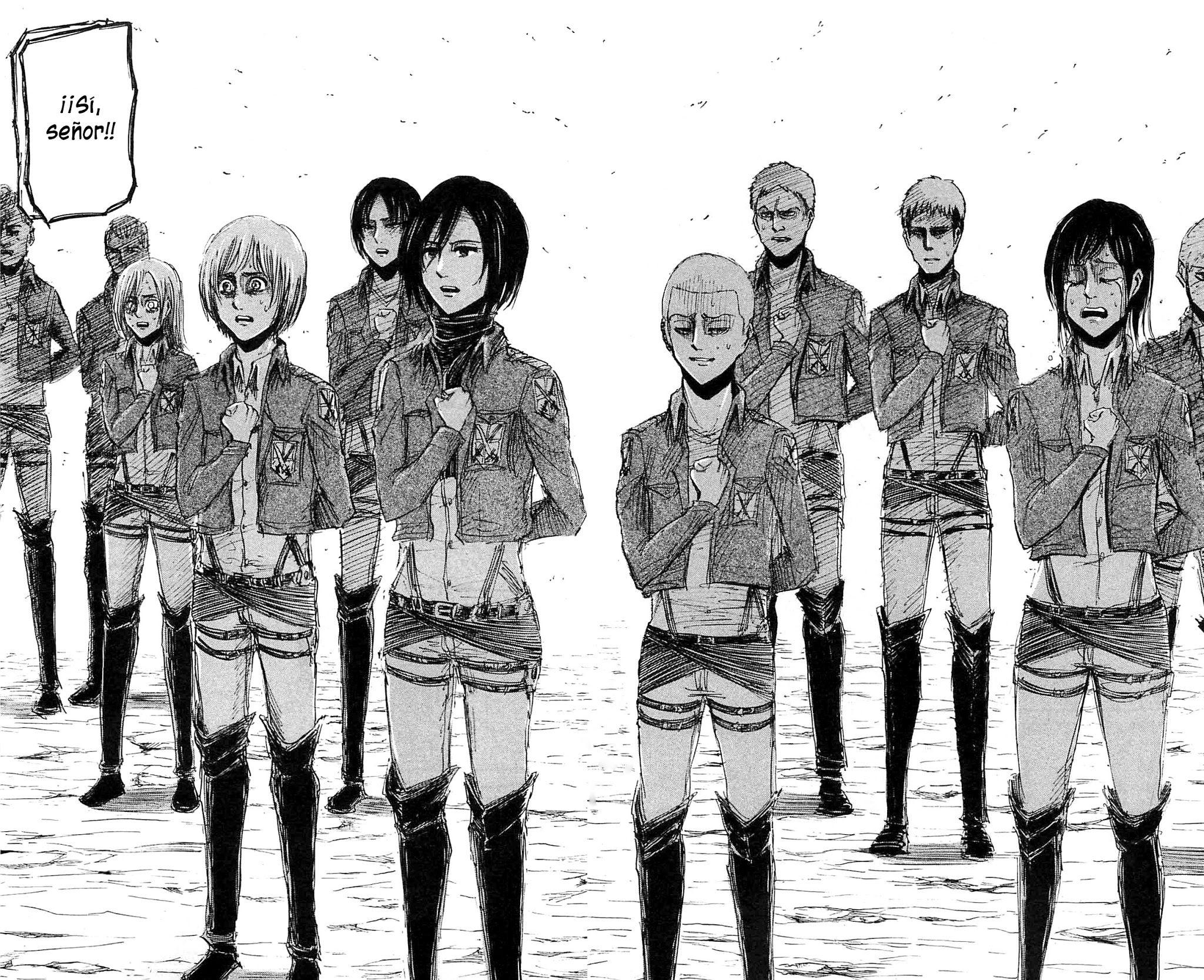 Shingeki no Kyojin 21 | Attack on titan, Tsundere girl ...