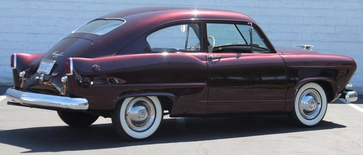 1953 Kaiser Deluxe HenryJ Car cartoon