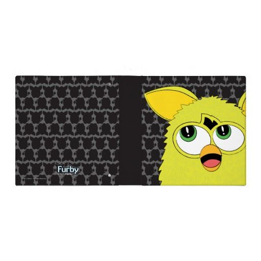Sprite Yellow Furby Binder $20.95