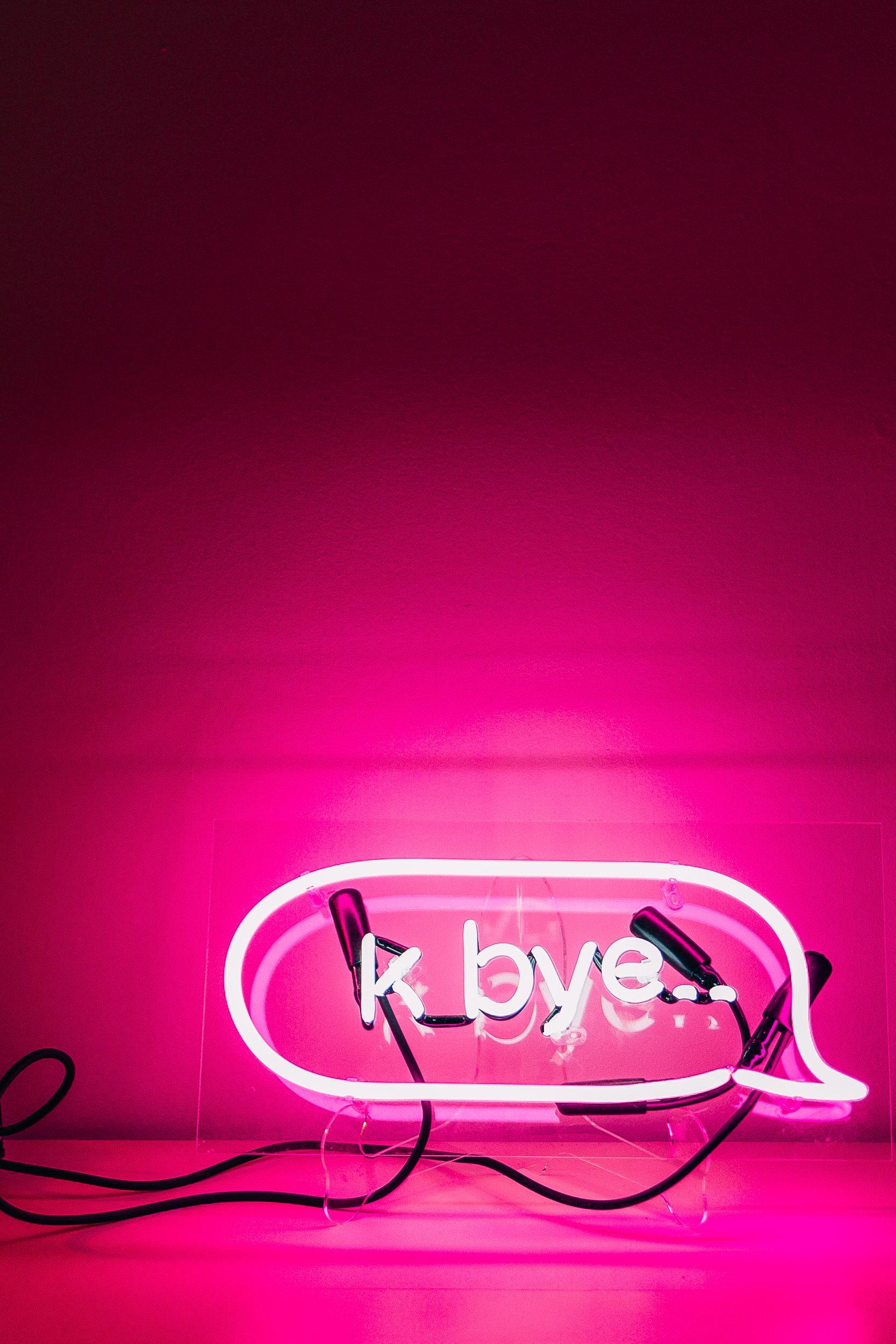 Uo Interviews Chrissie Miller Neon Wallpaper Pink